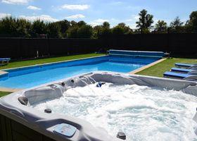 The Pool House at Upper Farm Henton