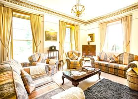 Wonderful, 7-bedroom Victorian Mansion in Scotland With 7.6 Acre Garden and Beautiful Parkland Views