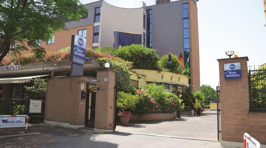 فندق بِست ويستيرن بلو روما-1 من 30 الصور