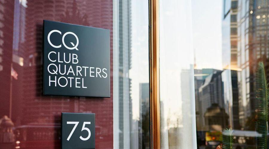 Club Quarters Hotel, Wacker at Michigan-34 of 53 photos