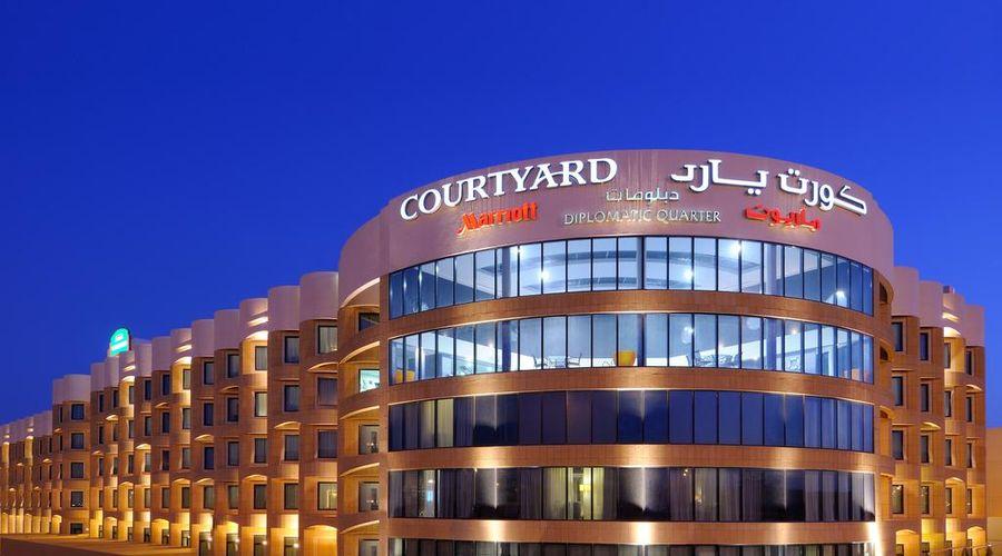 كورتيارد الرياض باي ماريوت دبلوماتيك كوارتر-1 من 35 الصور