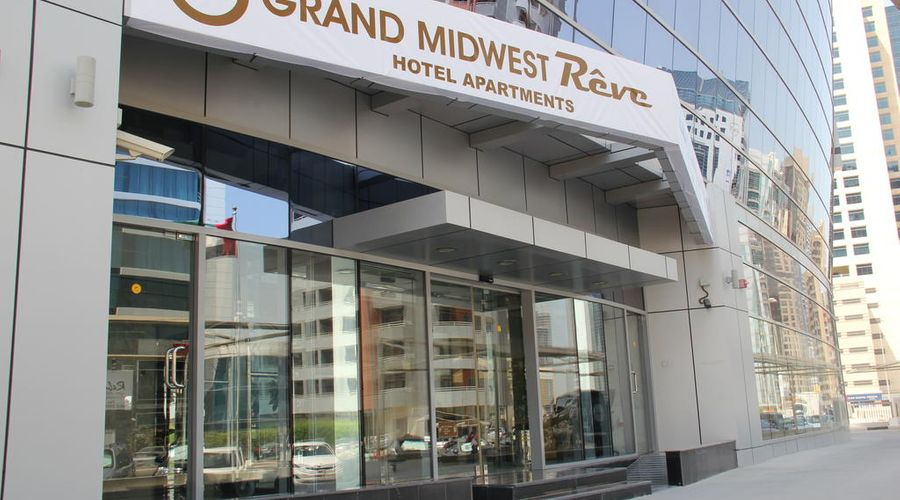 Grand Midwest Reve Tecom Hotel Dubai-1 من 29 الصور
